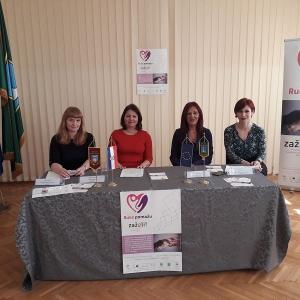press konferencija EU projekta Ruke pomažu