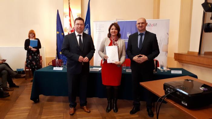 Potpisan ugovor za EU projekt Ruke pomoći